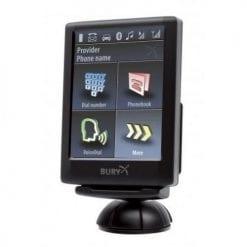 THB Bury CC9068 Hands Free Bluetooth Car Kit-Voice Dial & Touchscreen