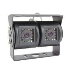 Ic360 Twin Universal External Rear Camera Black - chameleondirect.co.uk